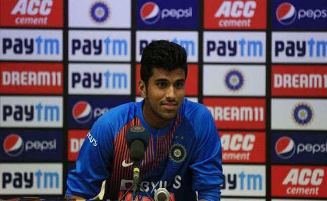 T-20 क्रिकेट में स्पिनरों की भूमिका अहम, शांतचित बने रहना जरूरीः वाशिंगटन सुंदर