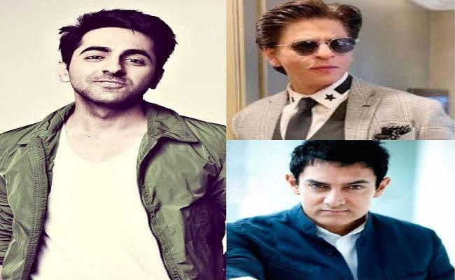 आयुष्मान के लिए प्रेरणास्रोत हैं शाहरुख और आमिर
