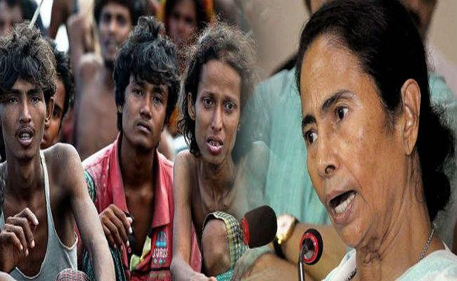 रोहिंग्या से बांग्लादेश परेशान, ममता दे रहीं प्रश्रय