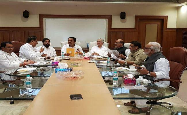 #Maharashtra : न्यूनतम साझा कार्यक्रम को लेकर कांग्रेस, NCP और शिवसेना के बीच बैठक