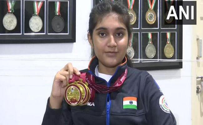 निशानेबाजी: 14 साल की ईशा सिंह ने एशियन शूटिंग चैंपियनशिप में जीता 3 गोल्ड मेडल, अगला लक्ष्य ओलंपिक
