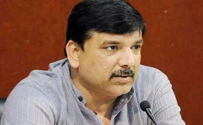 AAP नेता संजय सिंह का बयान, दिल्ली विधानसभा चुनावों में कांग्रेस प्रतिद्वंद्वी नहीं