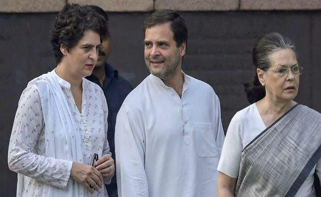 गांधी परिवार की सुरक्षा से एसपीजी हटाने पर कांग्रेस, द्रमुक और राकांपा का सदन से वाकआउट