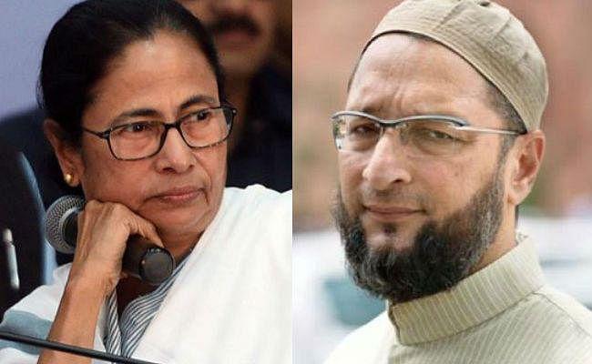 ममता के ''अल्पसंख्यक अतिवादी'' वाले बयान पर ओवैसी ने किया पटलवार