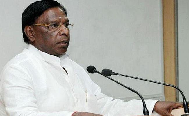 पुडुचेरी के मुख्यमंत्री नारायणसामी ने उपराज्यपाल बेदी को बताया 'हिटलर की बहन''