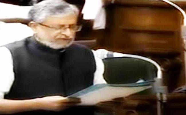 शीतकालीन सत्र : वित्त मंत्री सुशील मोदी ने 12457.6190 करोड़ रुपये का द्वितीय अनुपूरक व्यय विवरणी किया सदन में पेश