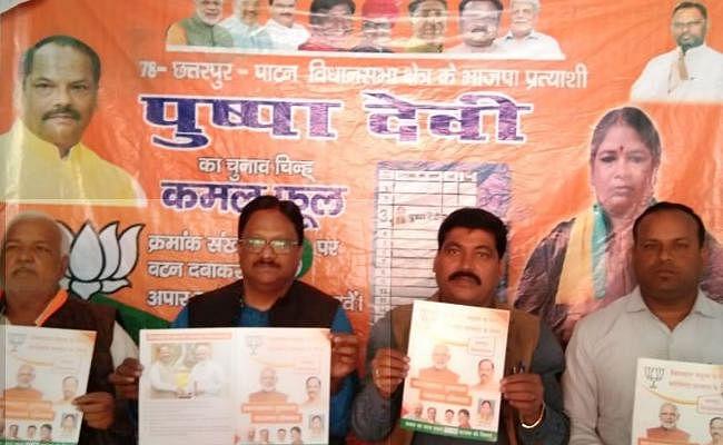 Jharkhand Election 2019 : भाजपा के राष्ट्रीय प्रवक्ता ने पलामू में पेश किया रिपोर्ट कार्ड