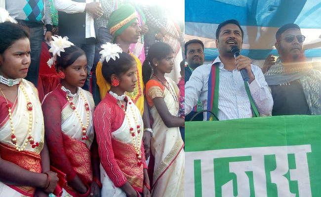 आजसू पार्टी के प्रमुख सुदेश महतो ने कहा, झारखंड में हमारी सरकार बनी, तो महिलाओं को मिलेगा 50 फीसदी आरक्षण