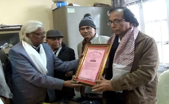 रामविलास शर्मा सम्मान से नवाजे गये हिंदी के साहित्यकार डॉ रवि भूषण