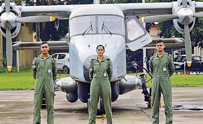 बिहार की बेटी का कमाल, शिवांगी बनीं नौसेना की पहली महिला पायलट