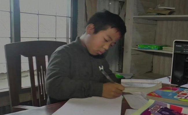मणिपुर: छोटी से उम्र लेकिन दिमाग न्यूटन जैसा, दसवीं बोर्ड की परीक्षा देंगे 12 साल के ''आइजक पॉललुंगमुआन''
