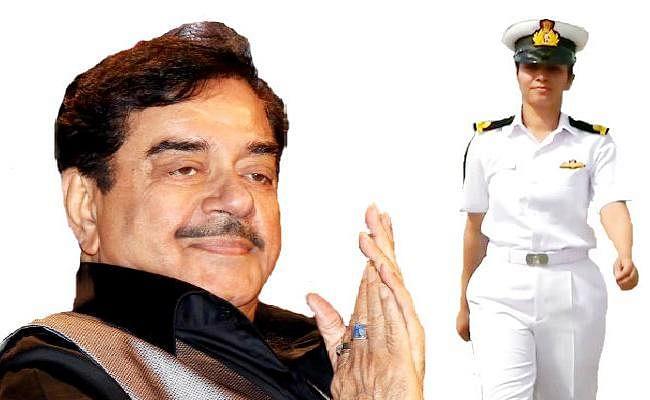 शत्रुघ्न सिन्हा ने बिहार की बेटी शिवांगी के पहली नौसेना महिला पायलट बनने पर दी बधाई, कहा...