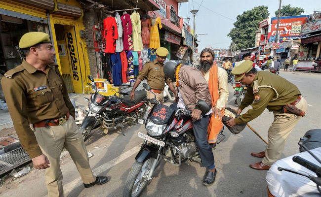 बाबरी विध्वंस की बरसी के मद्देनजर अयोध्या में सुरक्षा कड़ी