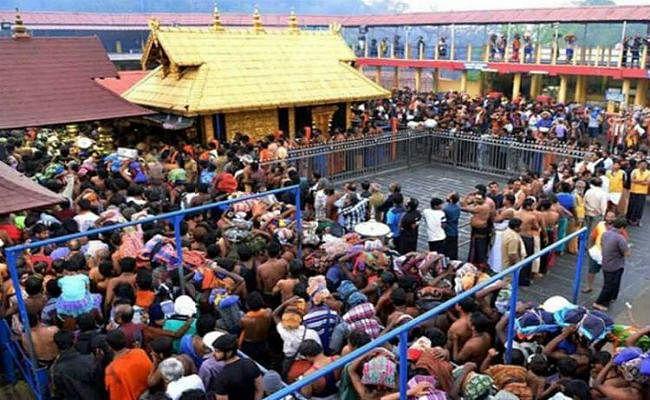 सबरीमाला में श्रद्धालुओं की भारी भीड़, आय 69 करोड़ के पार पहुंची