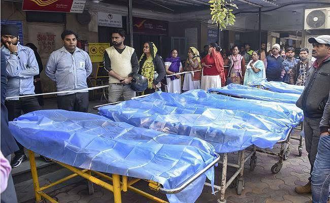 दिल्ली अग्निकांड : बिहार के लोगों के शव एबुलेंस से भेजे जायेंगे