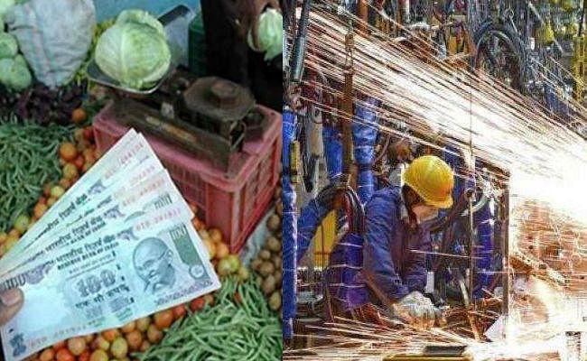 अर्थव्यवस्था में नरमी जारी : औद्योगिक उत्पादन 3.8 फीसदी गिरा, खुदरा मुद्रास्फीति 5.54 फीसदी पर पहुंची