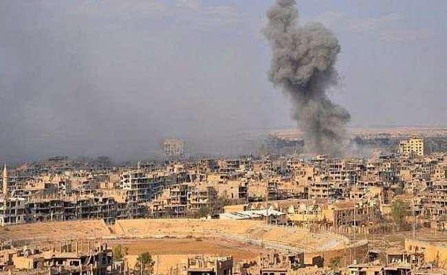 सरियाई शासन के हवाई हमलों में गयी 23 नागरिकों की जान
