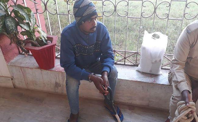 मूक-बधिर नाबालिग से दुष्कर्म के आरोपी को पुलिस ने पकड़ा, जेल