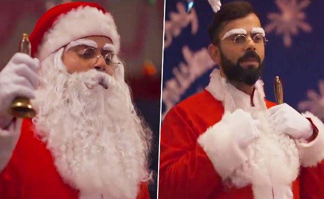 VIDEO: क्रिसमस से पहले बेसहारा बच्चों के लिए सांता क्लॉज बने विराट कोहली