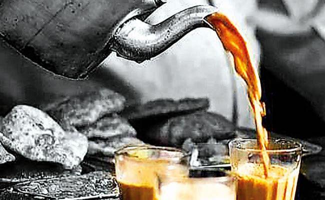 सर्दी का आलम, चाय गरम