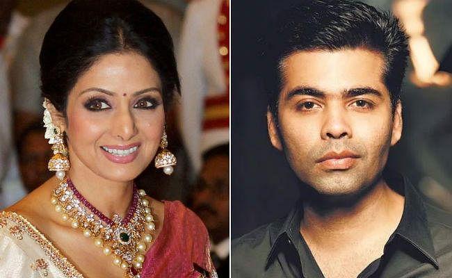 मेरे मन में हिंदी सिनेमा के लिए दीवानगी श्रीदेवी ने जगाई : करण जौहर
