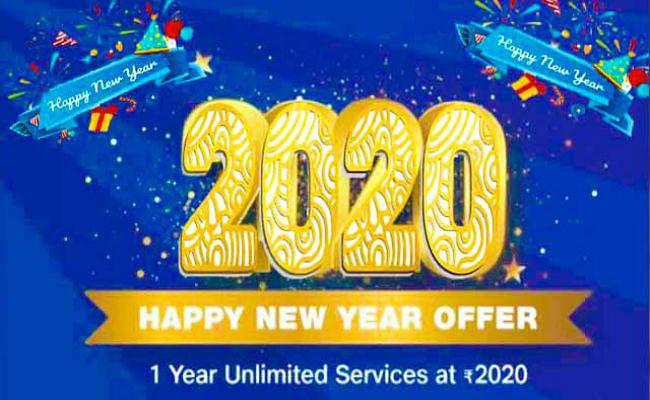 Reliance Jio लेकर आया 2020 Happy New Year Offer, एक साल तक सबकुछ FREE