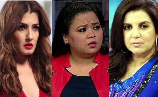 रवीना टंडन, फराह खान और भारती सिंह के खिलाफ FIR दर्ज, लगा ये आरोप