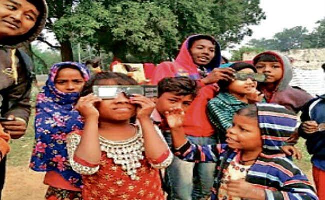 पूर्व मेदिनीपुर में भी लोगों ने देखा सूर्यग्रहण