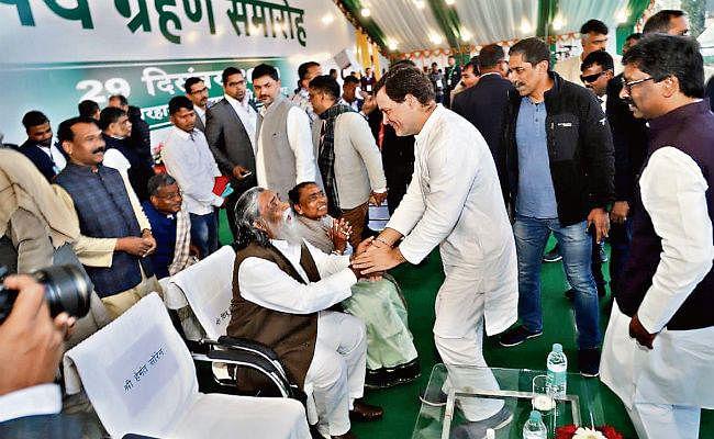झारखंड में अब शांति व समृद्धि के नये युग की शुरुआत होगी : राहुल गांधी