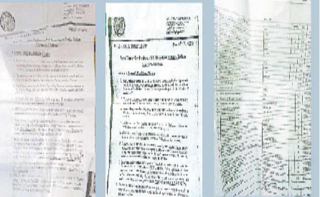 जमशेदपुर :  डाॅलर की किताबों काे रुपये में जोड़ा दो करोड़ की राशि, 24 लाख बतायी