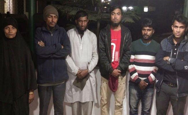 चोरी के आरोप में सिलीगुड़ी से 6 रोहिंग्या मुसलमान गिरफ्तार