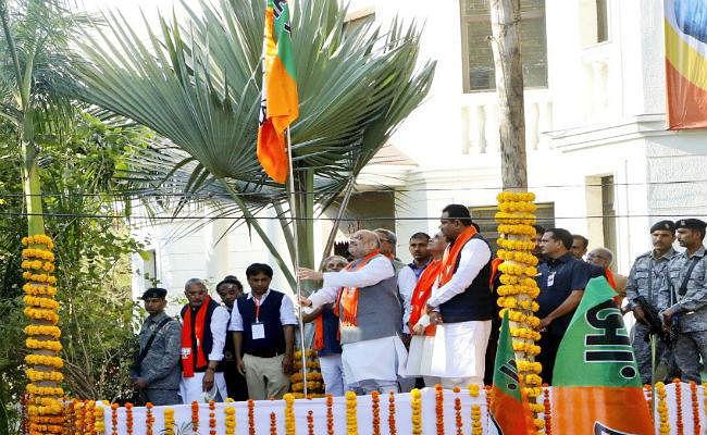 अमित शाह ने ''मेरा परिवार, भाजपा परिवार'' अभियान की शुरुआत की, बोले - देश की जनता मोदी के साथ खड़ी