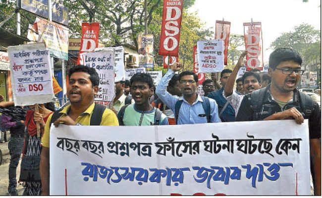 कोलकाता :  परीक्षा केंद्रों पर कड़ी निगरानी के दावों के बावजूद कथित पेपर लीक की घटनाओं ने बढ़ाया सिरदर्द