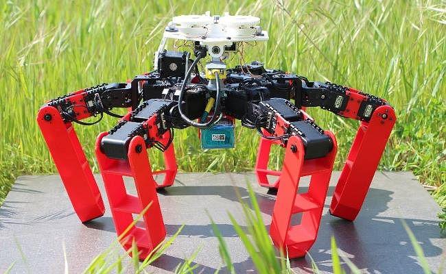 GPS के बिना चलने-फिरने वाला पहला रोबोट