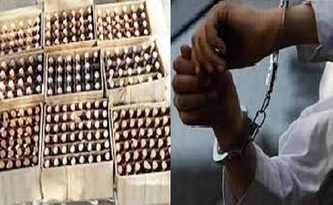 बोकारो में फैक्टरी बनाकर बिहार में करते थे शराब की तस्करी, छह तस्कर पकड़ाये