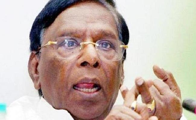 पुडुचेरी के CM का धरना पांचवे दिन भी जारी, जेल भरो की दी चेतावनी