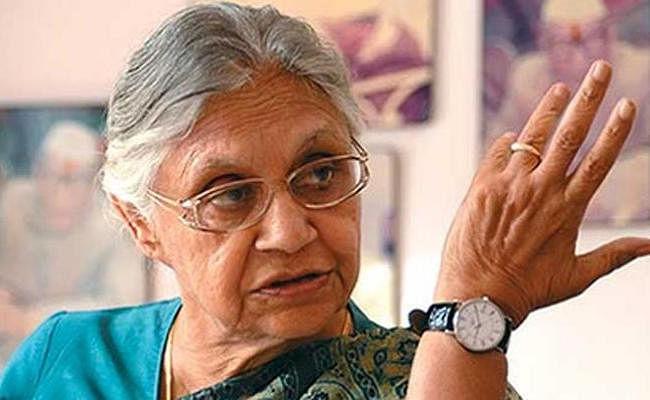 हताश हो चुकी है केजरीवाल की AAP, गठबंधन पर कभी नहीं की बात : शीला दीक्षित