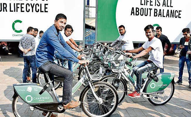 रांची   :  जीपीएस तकनीक से लैस है साइकिल, चोरी करना असंभव