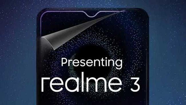 Realme 3 लॉन्च : मीडियाटेक हिलियो P70, 4230mAh बैटरी के साथ आया यह स्मार्टफोन, कीमत Rs 8999 रुपये
