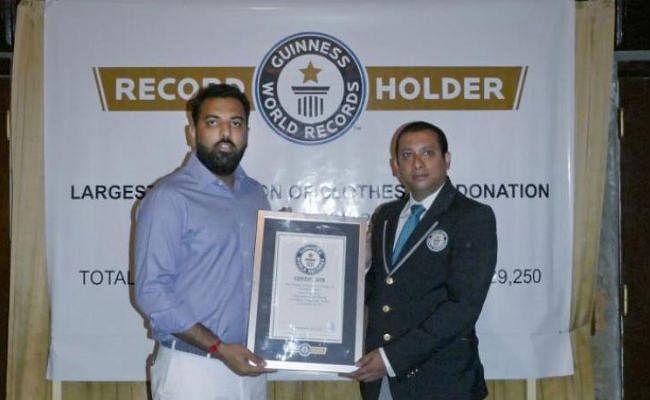 Guinness Book of World Records : महाराणा प्रताप के वंशज ने वस्त्रदान कर बनाया विश्व रिकॉर्ड