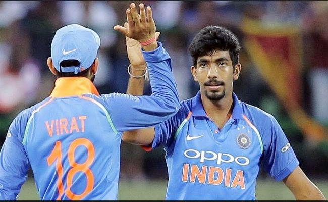 आईसीसी वनडे रैंकिंग में कोहली और बुमराह टॉप पर