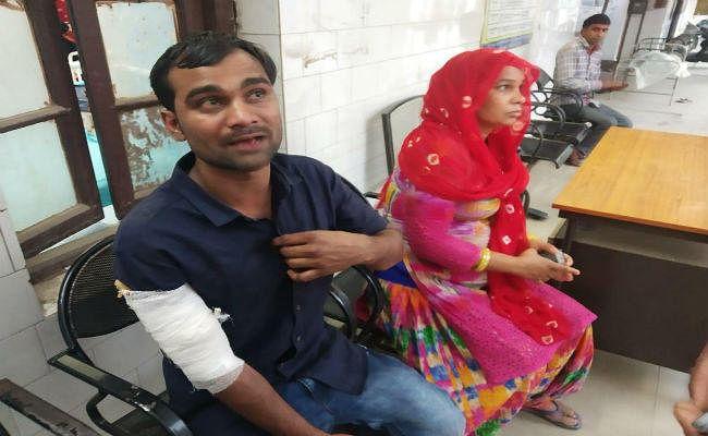 सीवान : टेंपो और बाइक के बीच सीधी टक्कर, महिला की मौत, दो गंभीर रूप से घायल