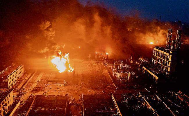 चीन : रासायनिक संयंत्र में विस्फोट, 47 मरे, 32 की स्थिति नाजुक