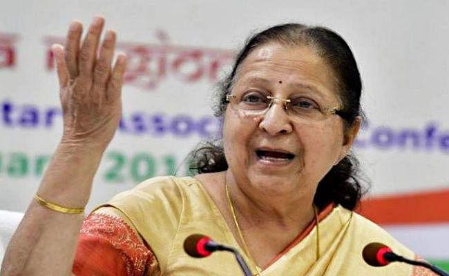 Loksabha Elections 2019 : भाजपा के 'फॉर्मूला 75' के फेर में ताई को लौटानी पड़ी 'इंदौर की चाबी'