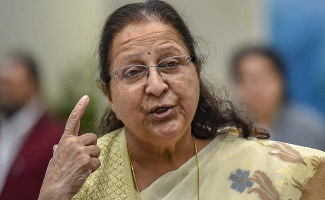 सुमित्रा महाजन ने कहा - राजनीति में तय नहीं की जा सकती सेवानिवृत्ति की उम्र
