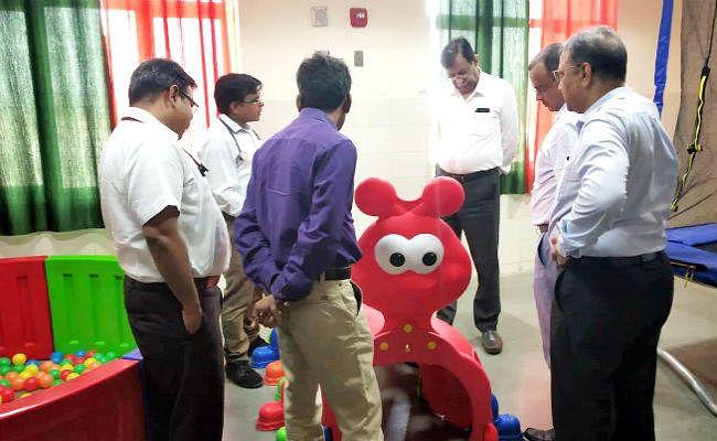 खेल-खेल में होगा पटना एम्स में जन्मजात और मानसिक विकृतियों से पीड़ित बच्चों का इलाज