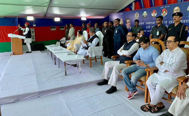 आजम खान के लिए वोट मांगने पहुंची मायावती कहा,भाजपा के हवा-हवाई वादे के फेर में ना पड़ें