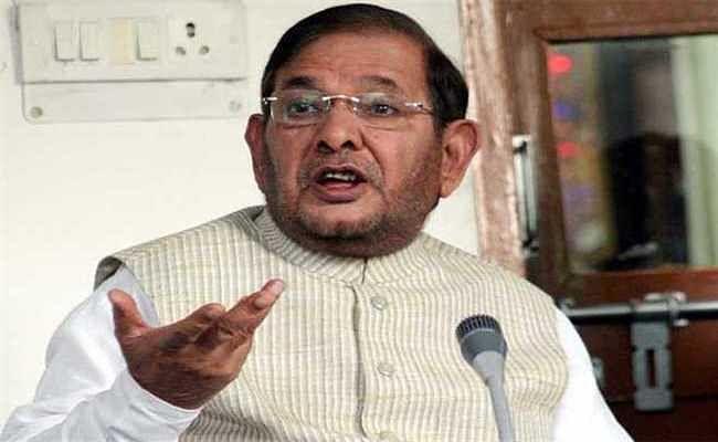 सीतामढ़ी : भाजपा को रोकने के लिए बना महागठबंधन: शरद यादव