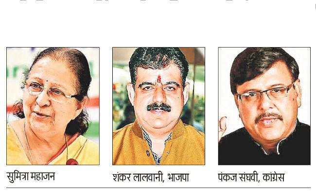 इंदौर : इस बार ताई मैदान में नहीं, फिर भी 'कमल' को खिलने की उम्मीद, जानें यहां का राजनीतिक इतिहास