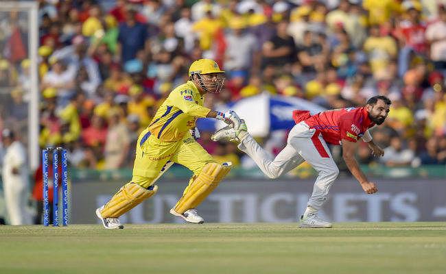 #IPL2019 : पंजाब से हार के बाद बोले धौनी, शीर्ष दो में बने रहना लक्ष्य था